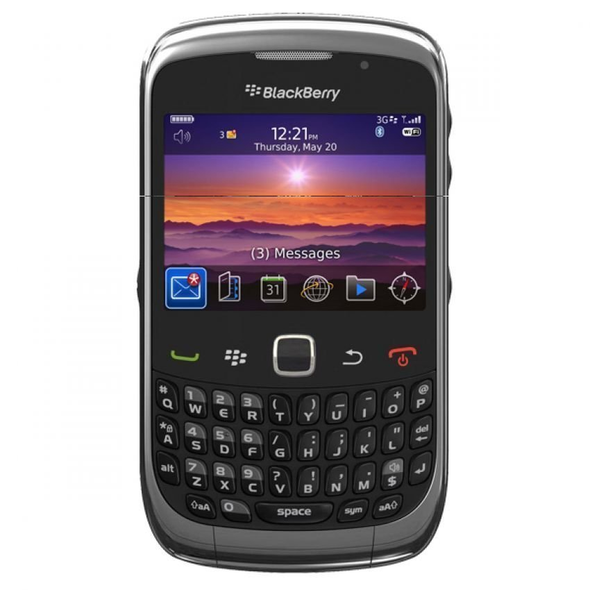 Blackberry 9330 CDMA - Hitam