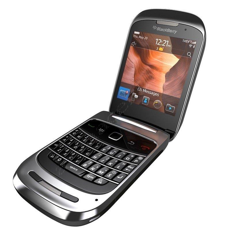 Blackberry 9670 CDMA - SMARTFREN - Hitam