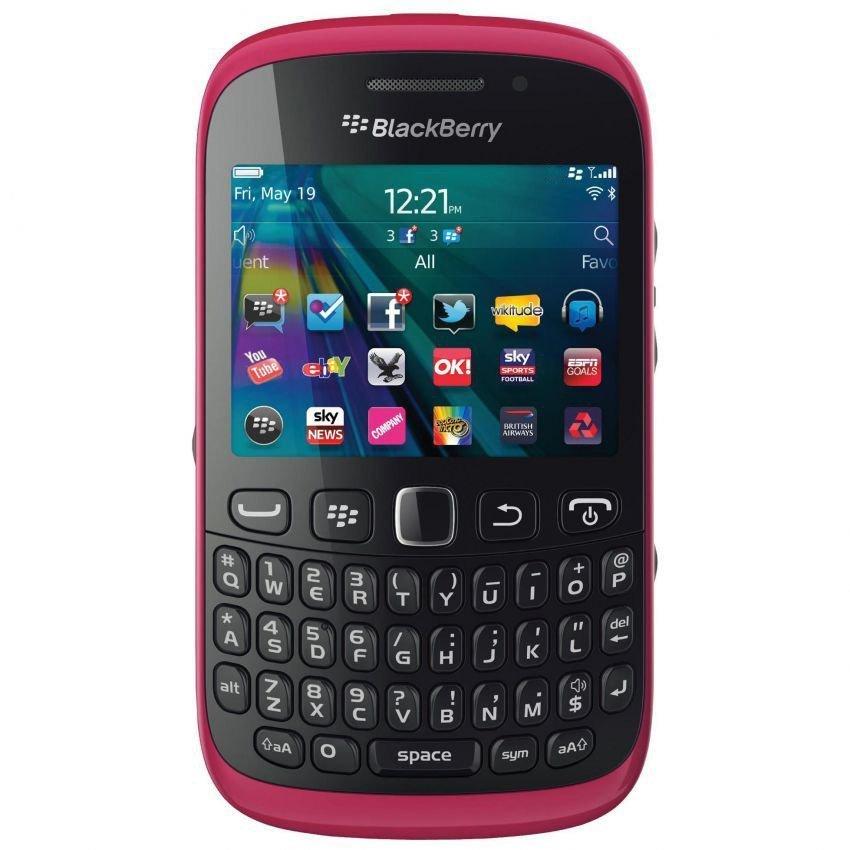 Blackberry Davis 9220 - 512 MB - Merah Muda
