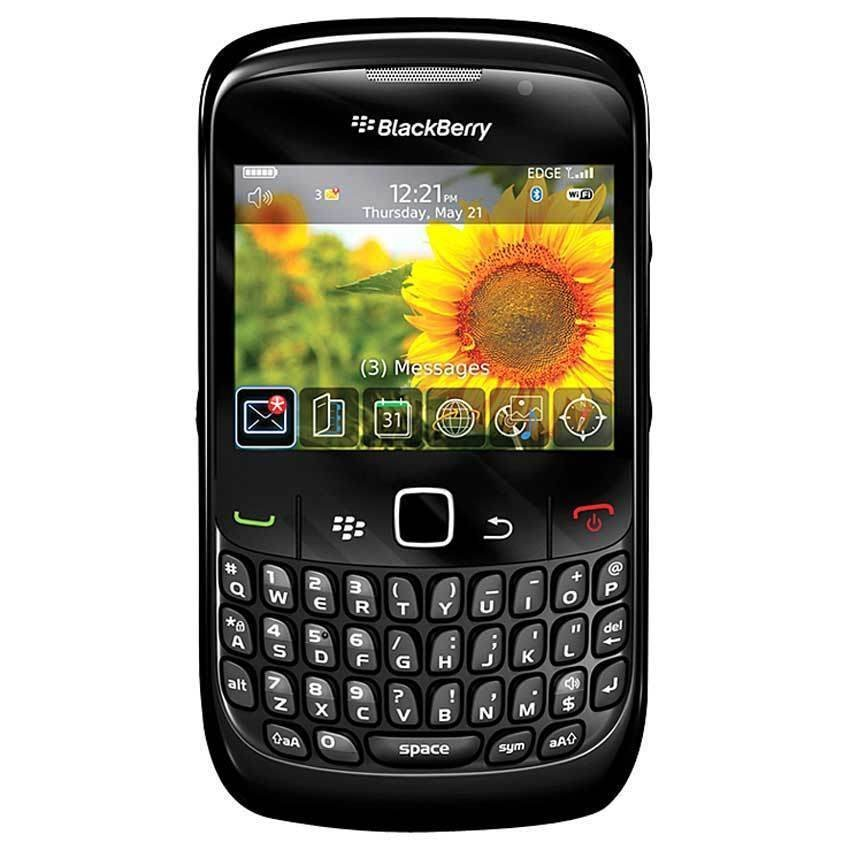 Blackberry Gemini 8520 - 256 MB - Hitam