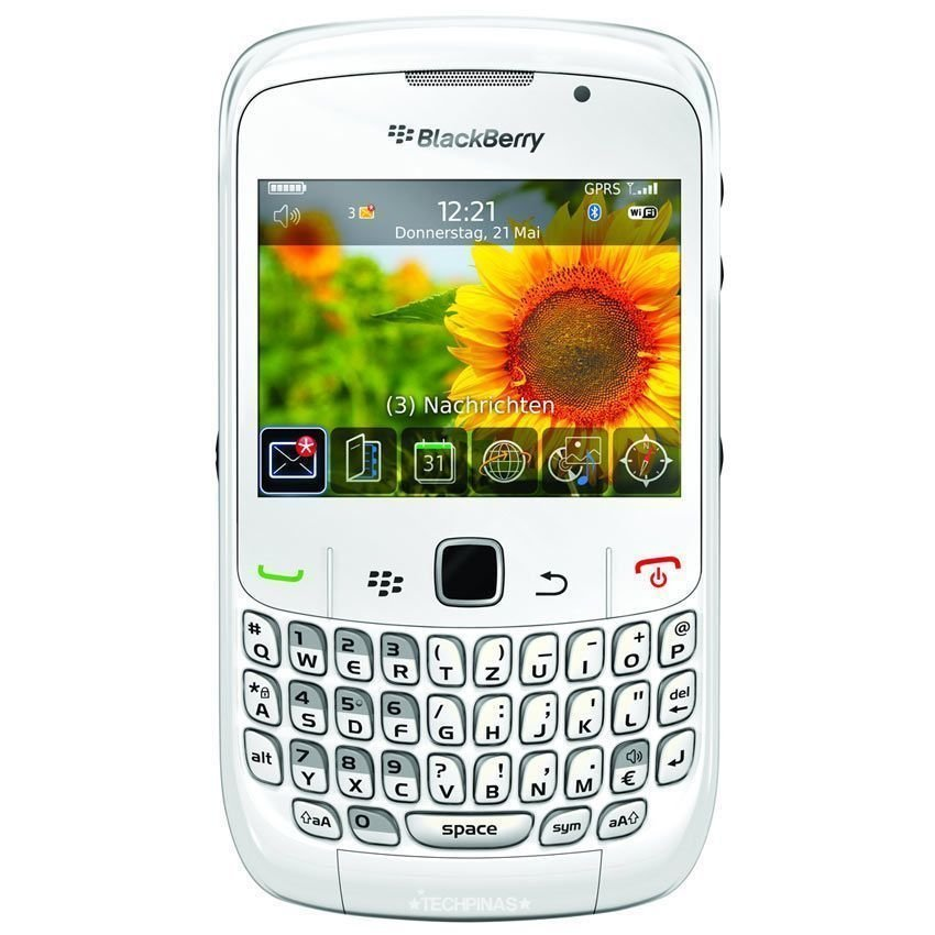 Blackberry Gemini 8520 - 256 MB - Putih