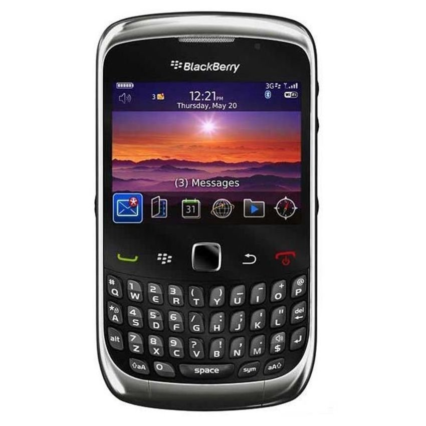 Blackberry Keppler 9300 - 256 MB - Abu abu Grafit + Gratis Micro SD 4GB
