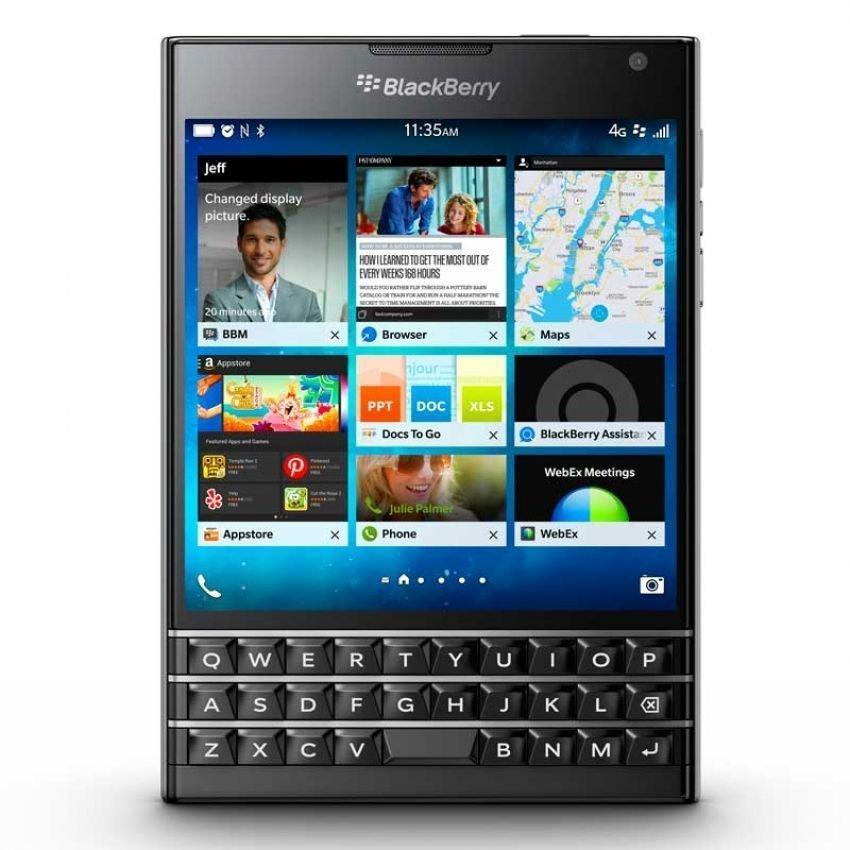 Blackberry Passport - 32 GB - Hitam