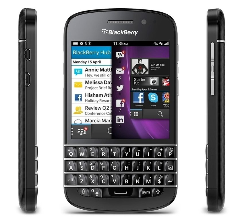 Blackberry Q10 - 16 GB - Hitam
