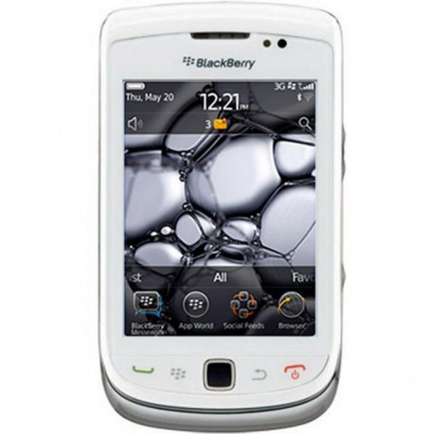 BlackBerry Torch 1 9800 - 512 MB - Putih