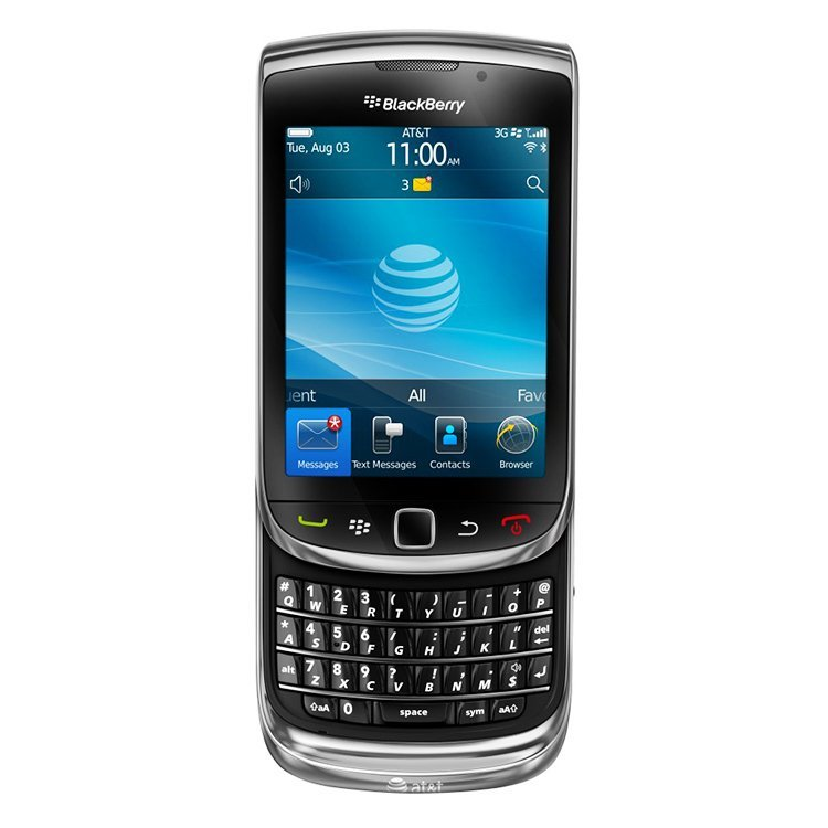 Blackberry Torch 9800 - 4 GB - Hitam