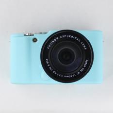 Blue Nice Soft Silicone Rubber Camera Protective Body Cover Case Skin For FujiFilm Fuji X-M1 X-A1 X-A2 XM1 XA1 XA2 Camera Bag