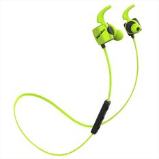 Bluedio TE Bluetooth 4.1 Wireless Sports Headphones Sweatproof Microphone (Green)
