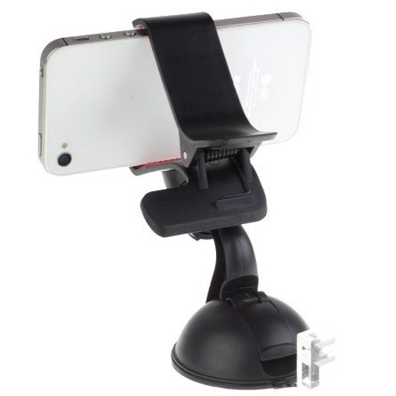 Blz Lazy Tripod Car Mount Holder for Smartphone - WF-319 - Hitam