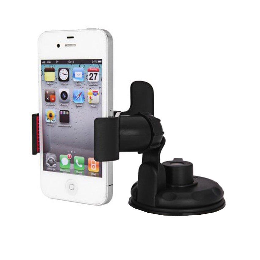 Blz Lazy Tripod Car Mount Holder for Smartphone - WF-362 - Hitam