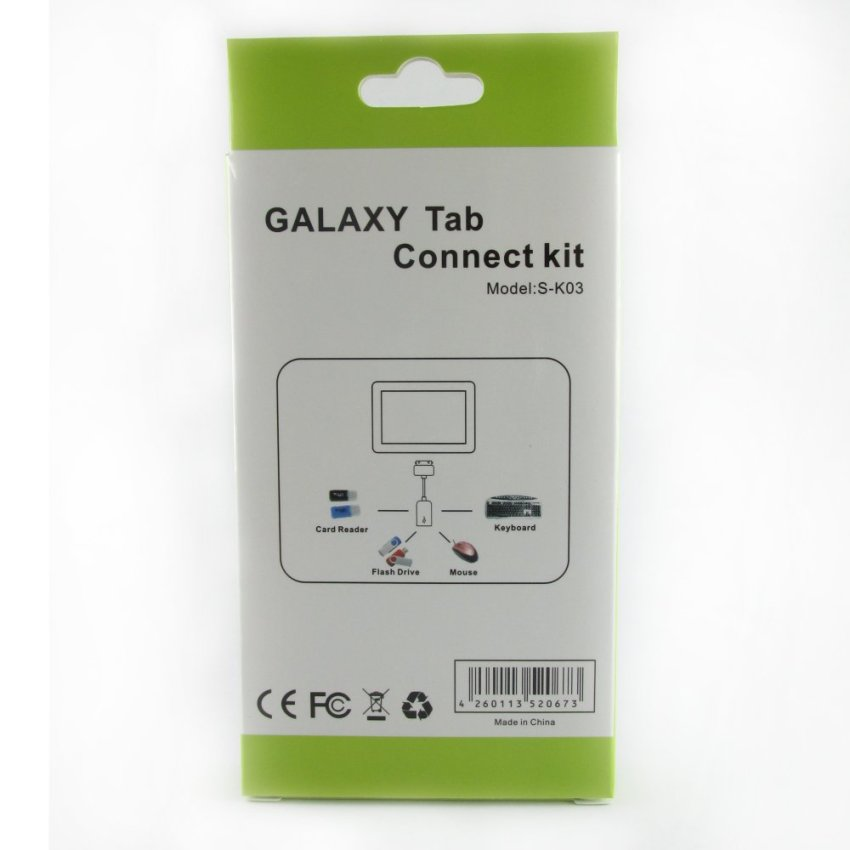 Bundle Connect Kit OTG for Tablet Dan Universal Screen Guard for Tab 8