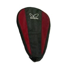 Butterfly Cover Bat Pingpong - Merah-Hitam
