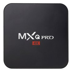 BUYINCOINS 1G + 8G MXQ Pro XBMC Kodi QUAD CORE 4K Android 5.1 Lollipop Smart TV BOX UK Plug