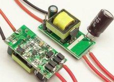 BUYINCOINS 4-7w LED Power Driver Light Lamp Power Supply AC 85-265V 200ma