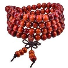 BUYINCOINS Men / Women Infinity Multilayer Wood Beaded Charm Bracelet Handmade Jewelry (Intl)