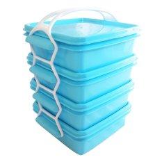 Calista Premium Set Rantang 4 - 4 susun - Biru