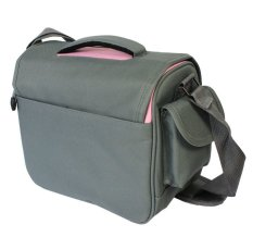 Camera Case Bag for Nikon DSLR D5200 D5100 D7100 D7000 D3200 D3100 (Pink)