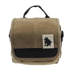 Camera Case Shoulder Bag Backpack For SLR Digital Camera Canon Sony Panasonic Nikon (Brown) (Intl)