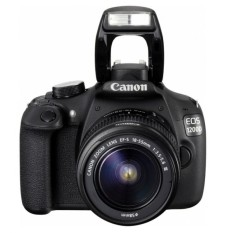 Canon EOS 1200D IS Kamera DSLR Lensa Kit 18-55 mm - 18 MP - Hitam