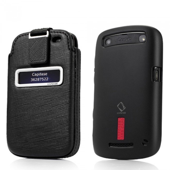 Capdase Blackberry 9360 Apolo Value Set - Hitam - Buy 1 Get 1