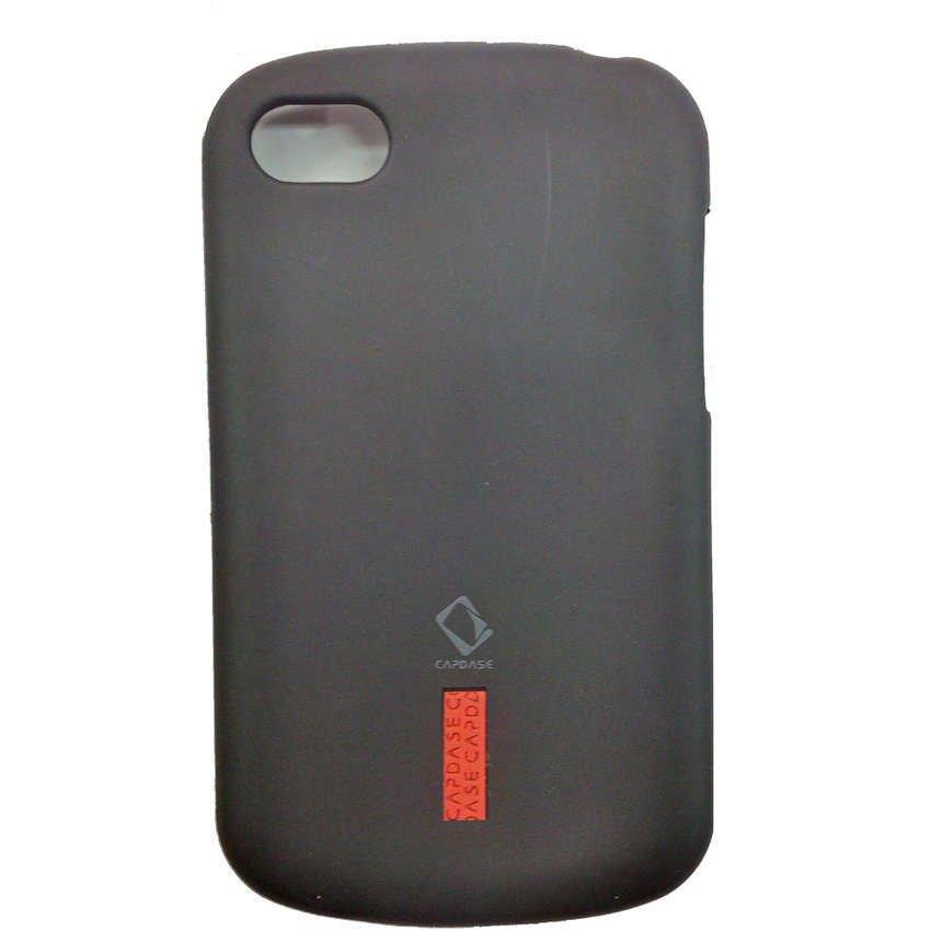 Capdase Blackberry Q10 Case Soft Jacket - Hitam
