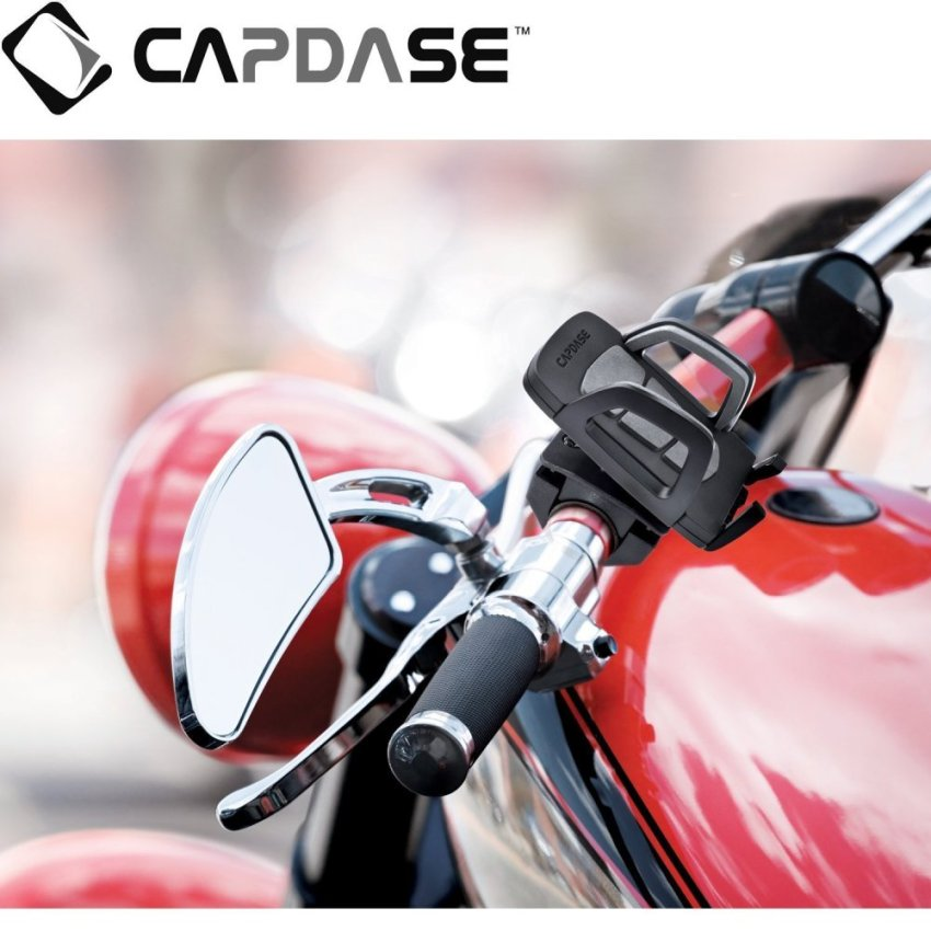 Capdase Motorcycle Mount Holder Racer - Hitam