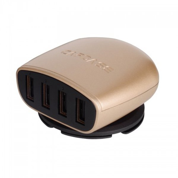 Capdase Posh 4 USB Car Charger - Gold
