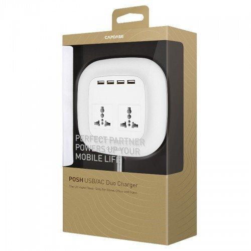 Capdase Posh Adaptor Ac Duo 4 USB 6