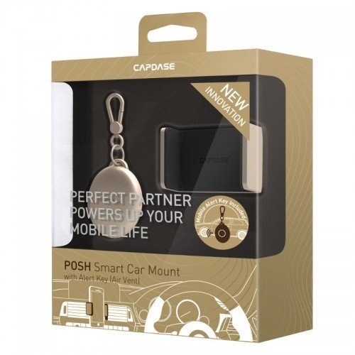 Capdase Posh Smart Car Mount Air Vent with Alert Key - Gold