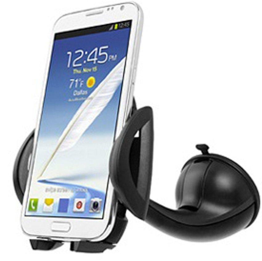 Capdase Sport Car Mount Flyer Universal Mobile Holder for Smartphone - Hitam