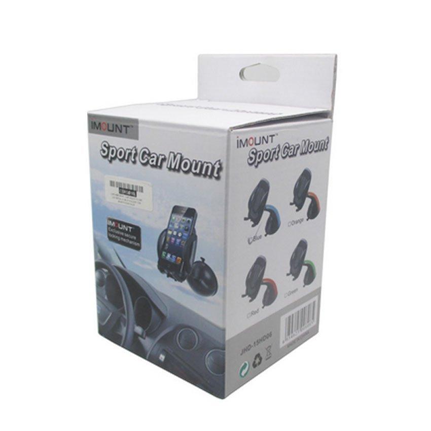 Capdase Sport Car Mount Flyer Universal Mobile Holder for Smartphone - OEM - Blue