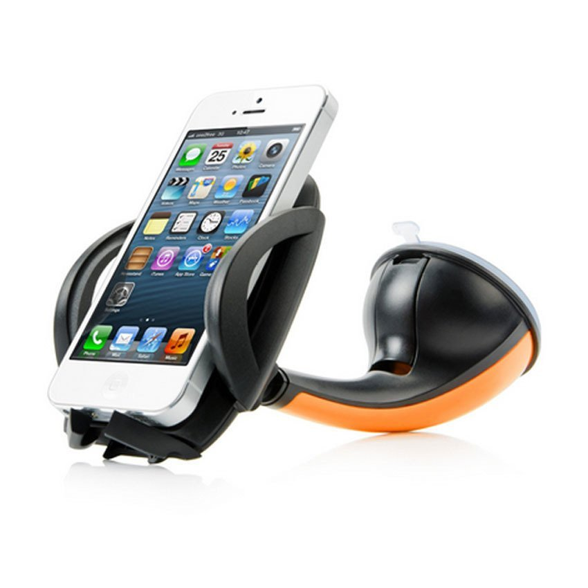 Capdase Sport Car Mount Flyer Universal Mobile Holder for Smartphone - Oranye