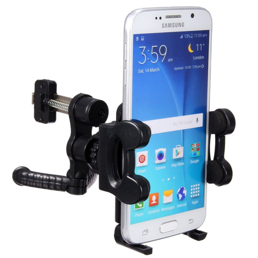 Car Air Vent Mount Holder Phone Stand Cradle (Black) (Intl)