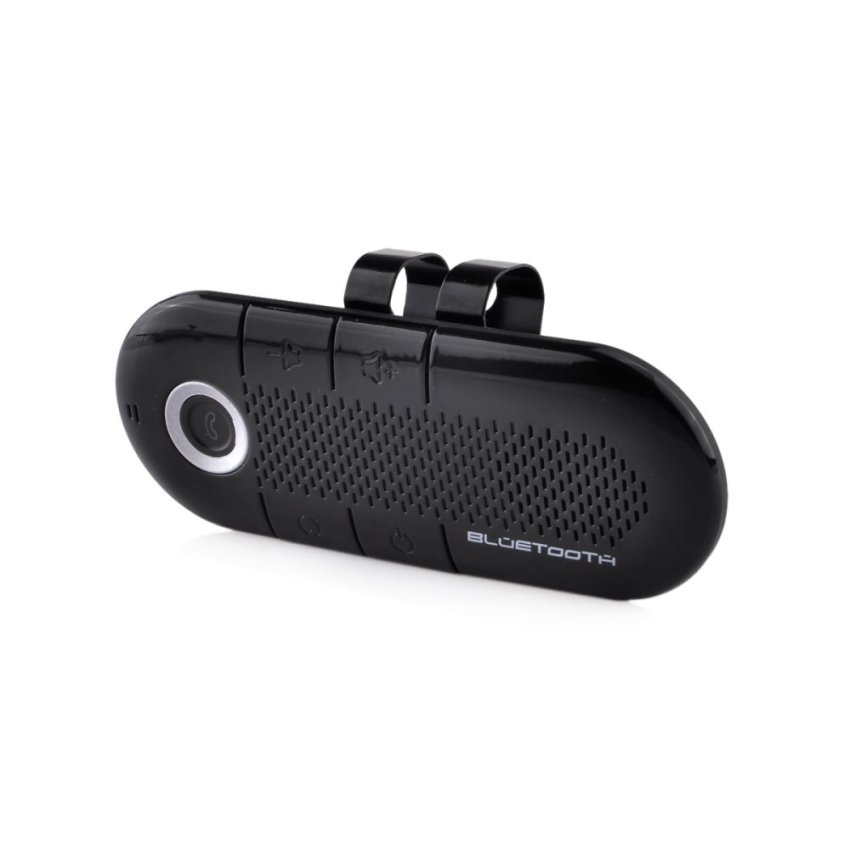 Car Bluetooth Handsfree Kit for Any Bluetooth Enabled Devices - Black (Intl)