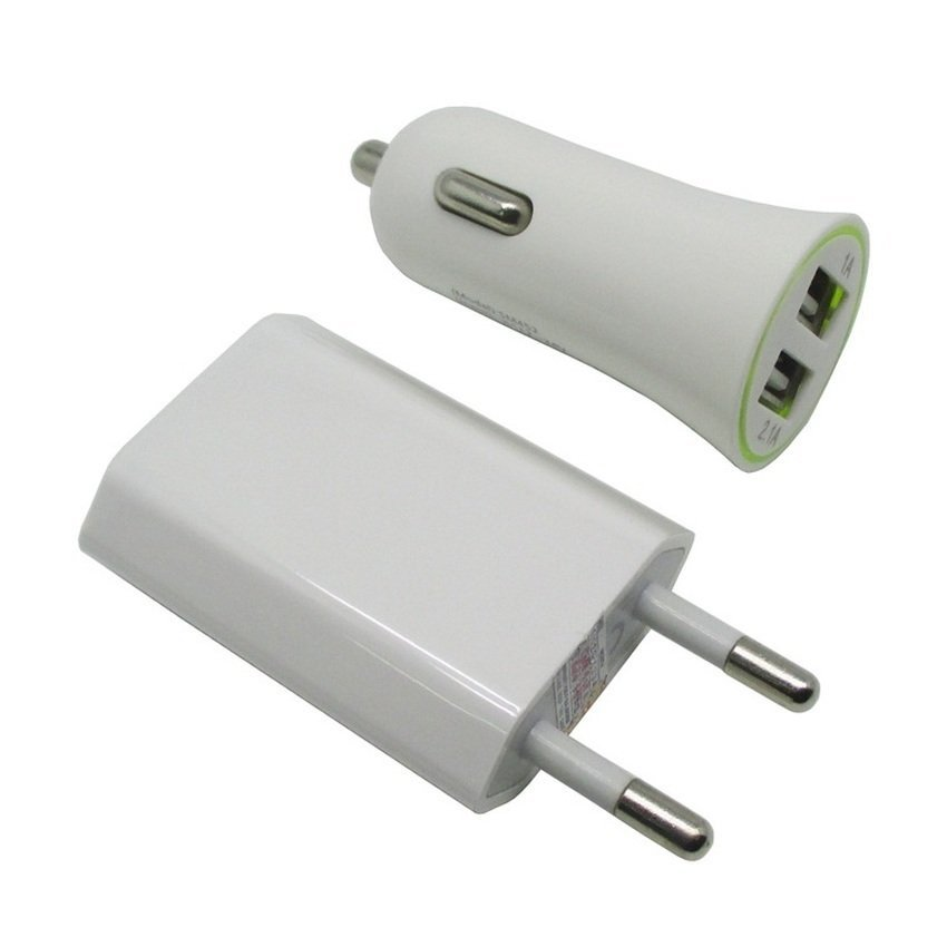 Car Charger 3 in 1 Travel Kit for iPhone 4 & 4S, iPhone 3GS/3G, iPod Touch