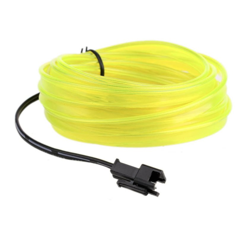 Car cold decorative lines (light yellow)(INTL)