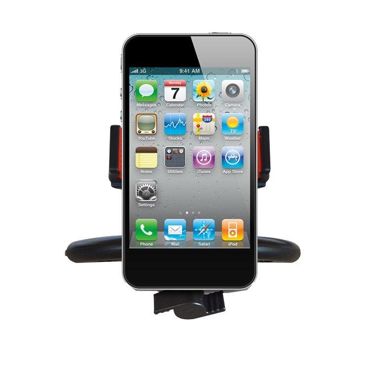 Car Mount CD Slot Holder Dash Kit for iPhone 6/5S/5C/5/4/4G/3GS - Black (Intl)