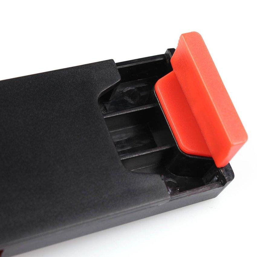 Car Steering Wheel Phone Holder (Black and Red)(INTL)