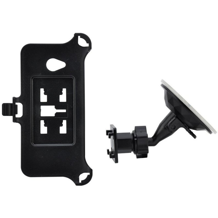 Car Windscreen suction Stand mount holder Mount for HTC One M7 Black (Intl)