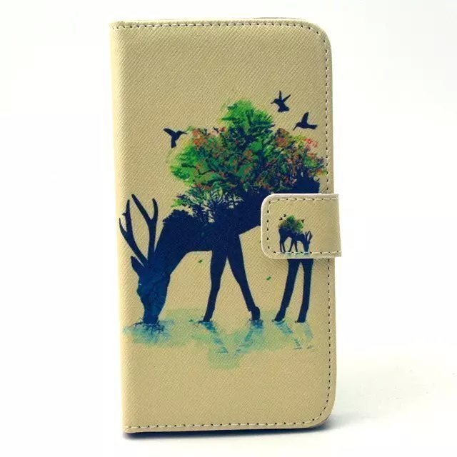 Card Holder Leather Cover for Samsung Galaxy S6