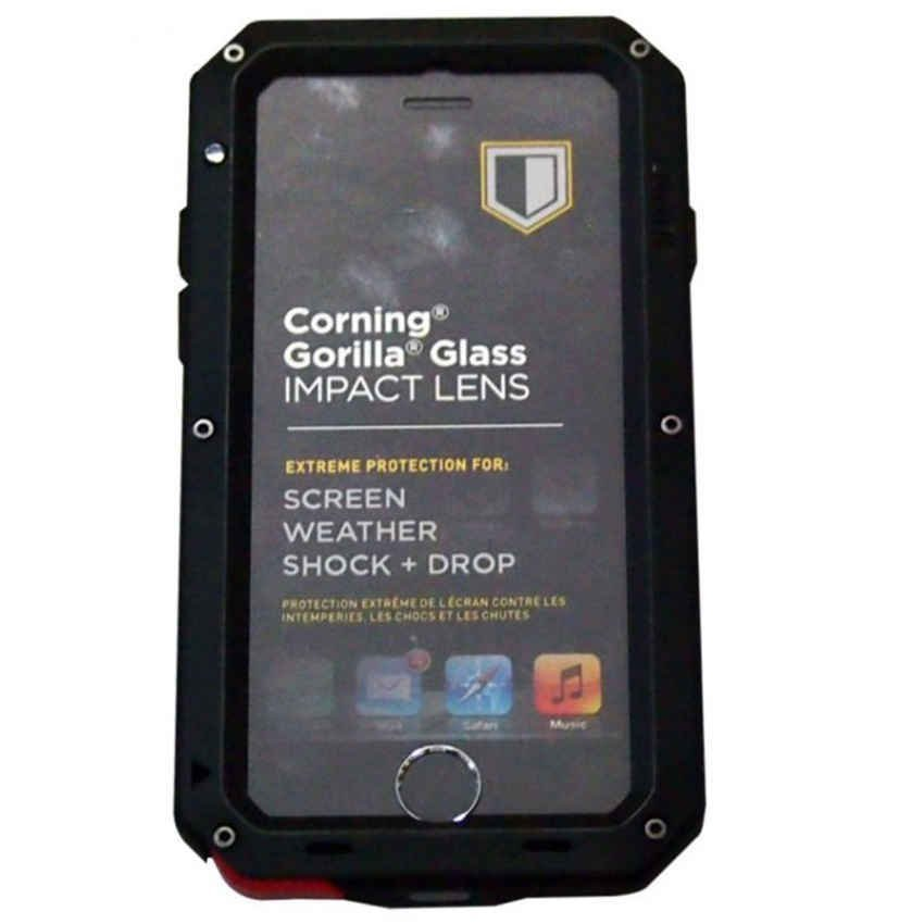 Case for Iphone 6 Case Plus Lunatik Taktik Extreme Strike - Hitam