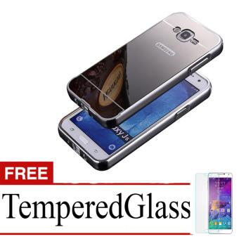 Case for Samsung Galaxy Grand Prime - G530 - Alumunium Bumper With Mirror Backdoor Slide -