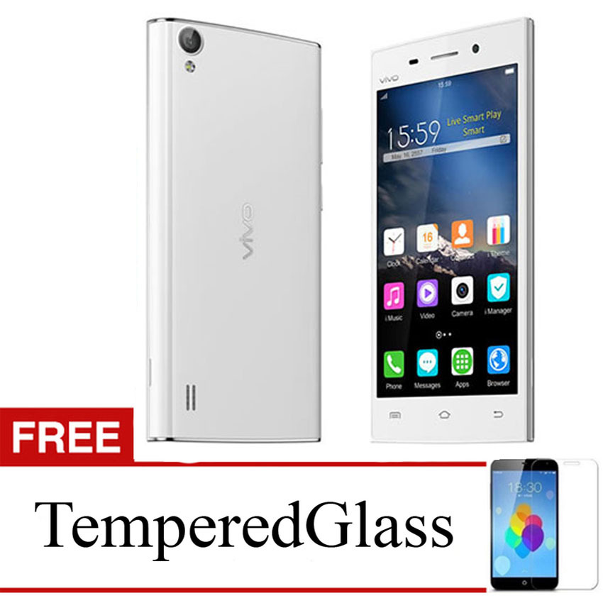 Case for Vivo Y31 - Clear + Gratis Tempered Glass - Ultra Thin Soft Case