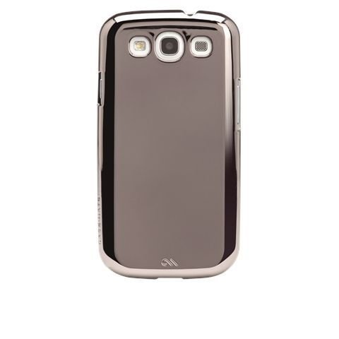 Case Mate Barely There - Samsung Galaxy SIII - Metallic Silver