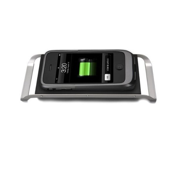 Case-Mate Hug iPhone 3G/3GS Wireless Charger - Abu-abu