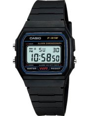 Casio Classic Digital Retro Women's Watch F-91W-1SDG