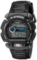 Casio G-Shock DW9052V-1 Men's Watch Black 24 HR Stopwatch 200 Meter Water Resistance Shock Resistant Nylon Band