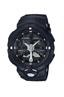 Casio G-shock GA-500-1 World Time Function Men's Watch Black (Free Size)