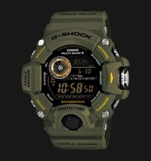 Casio G-SHOCK RANGEMAN- GW9400-3 - Jam Tangan Sport Pria - Rubber Strap - Hijau Tua