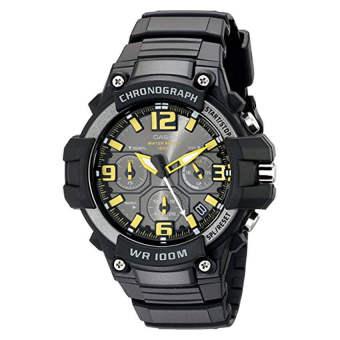 Casio Men's MCW-100H-9AVCF Heavy Duty-Design Chronograph Black Watch (Intl)